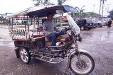 Vientiane - tuktuk
