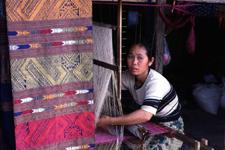 Wang Wieng - wytwórnia jedwabiu
